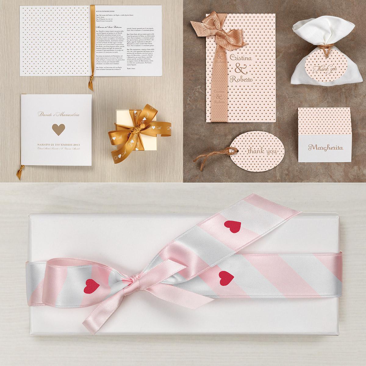 nastri personalizzati per matrimoni