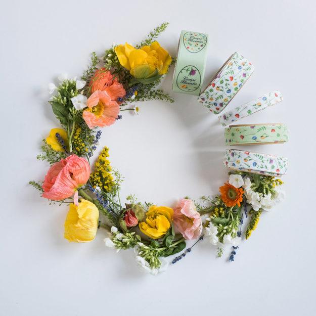 nastro personalizzato fiori di campo