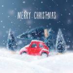 TS008 Christmas Car