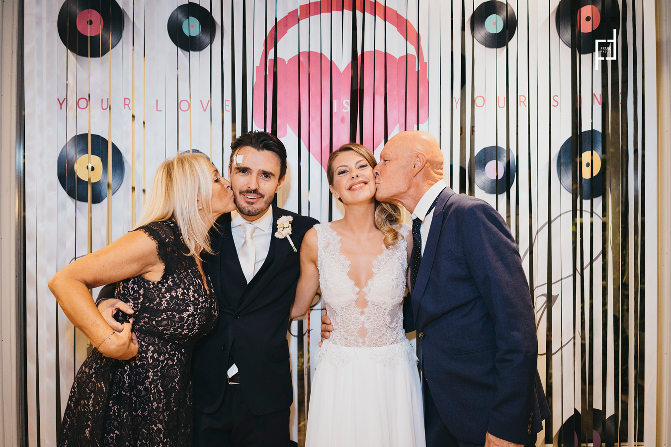 TUOshow al matrimonio di Paola e Rudy Smaila